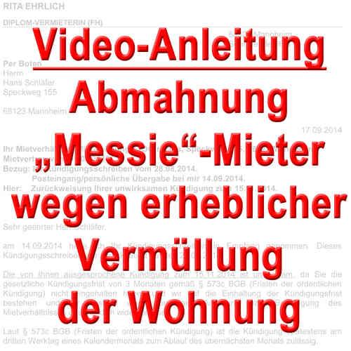 Abmahnung Durch Vermieter Video Anleitungen Vermietershopde
