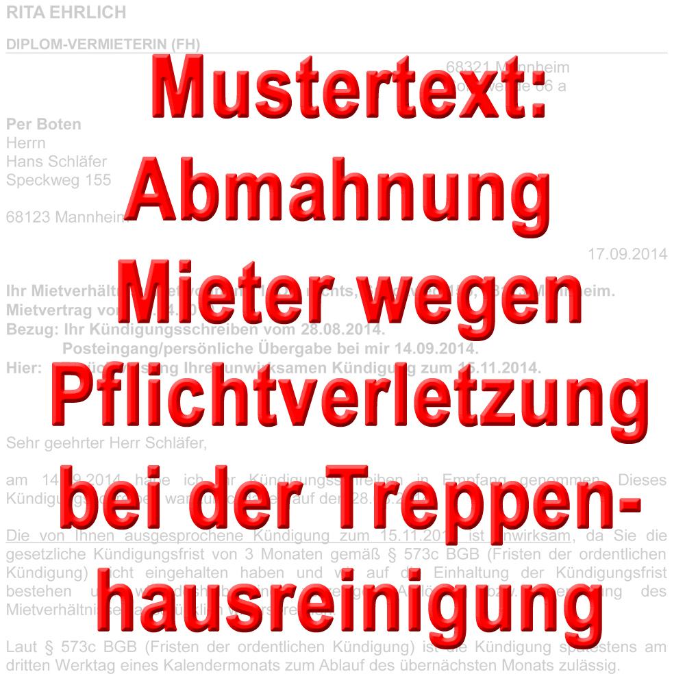 Putzplan Fur Mieter Treppenhaus Vorlagen 1