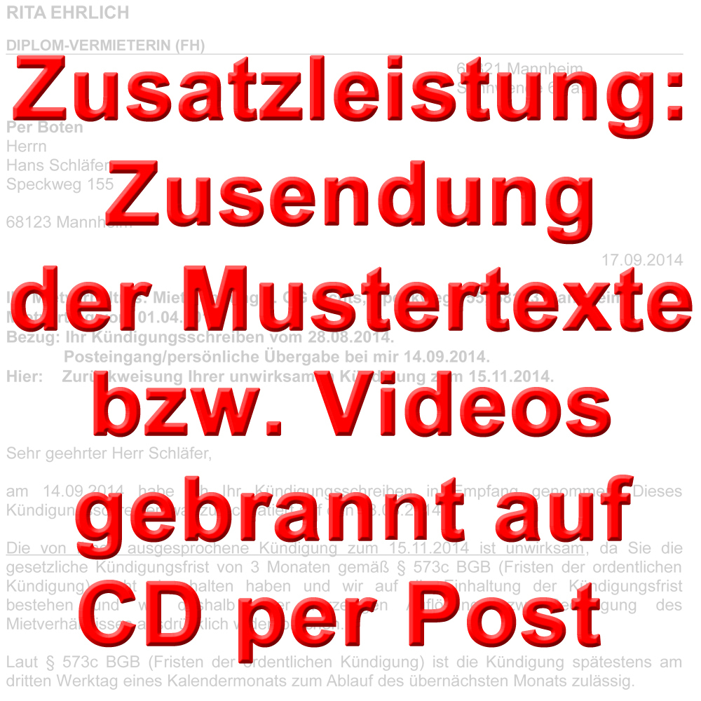 versandkosten f r gekaufte texte videos auf cd dvd per post. Black Bedroom Furniture Sets. Home Design Ideas